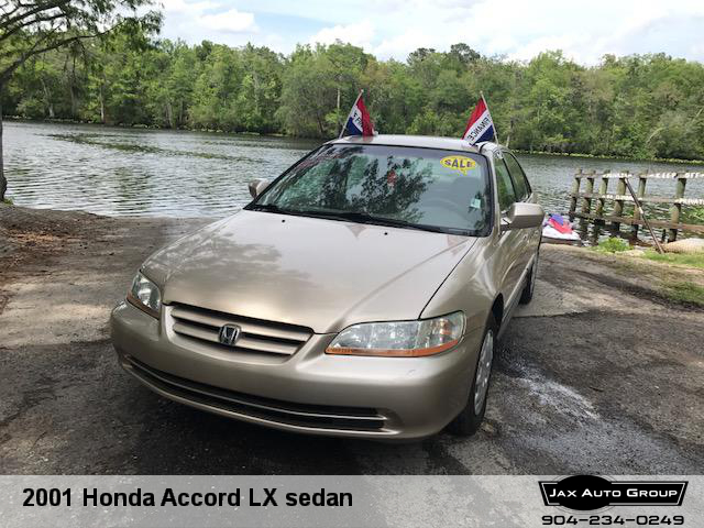 2001 Honda Accord LX sedan