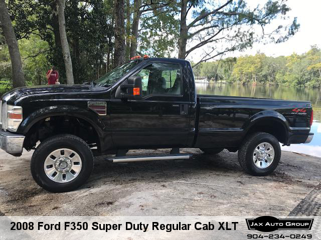 2008 Ford F350 Super Duty Regular Cab XLT
