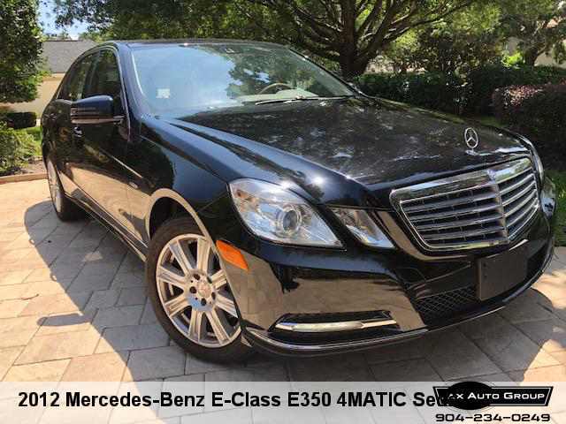 2012 Mercedes-Benz E-Class E350 4MATIC Sedan
